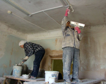В Долгопрудном идет ремонт в центральной больнице