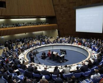 Делегация РФ проинформировала Исполком ВОЗ о российских вакцинах против Эболы.